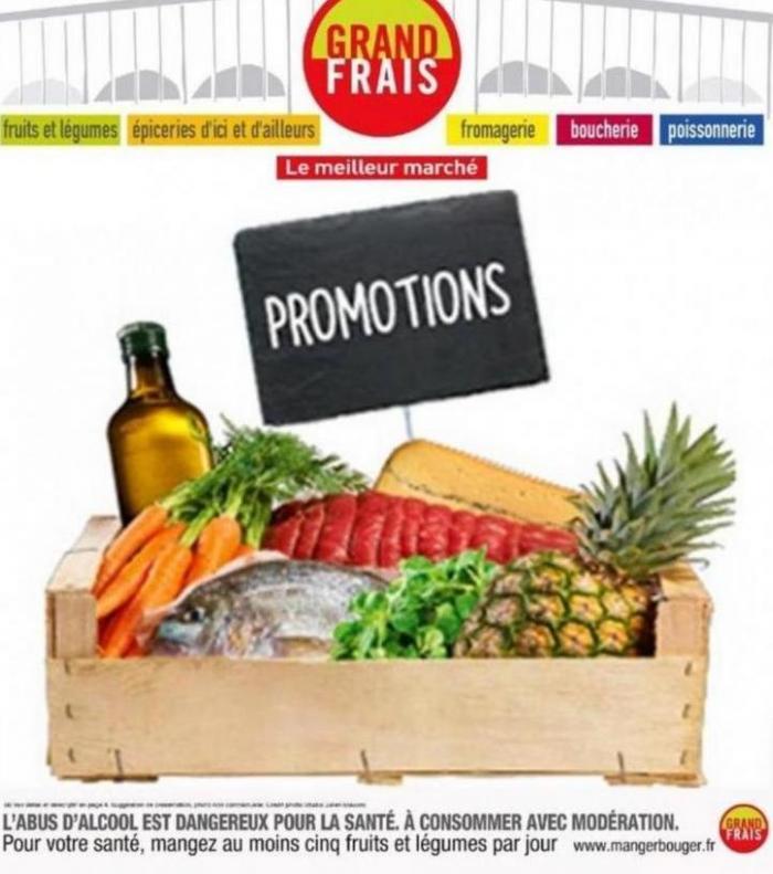 Promotions . Grand Frais (2019-10-01-2019-10-01)