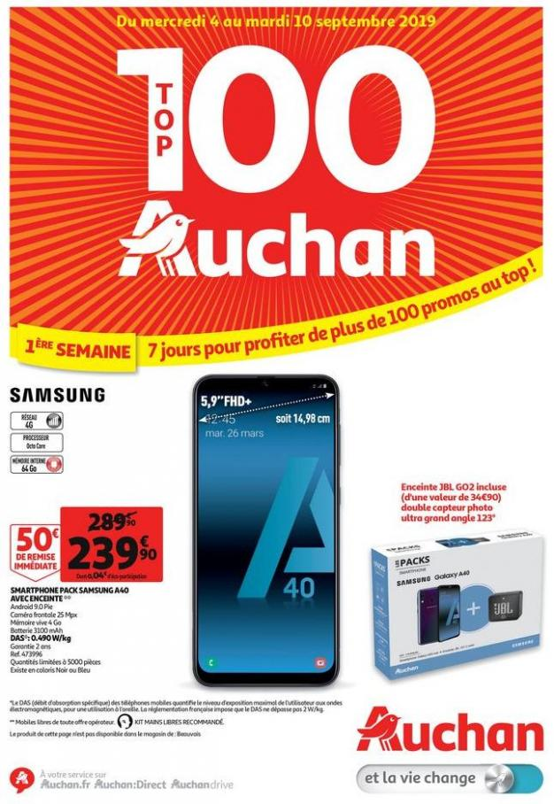 Top 100 Auchan  . Auchan Drive (2019-09-10-2019-09-10)