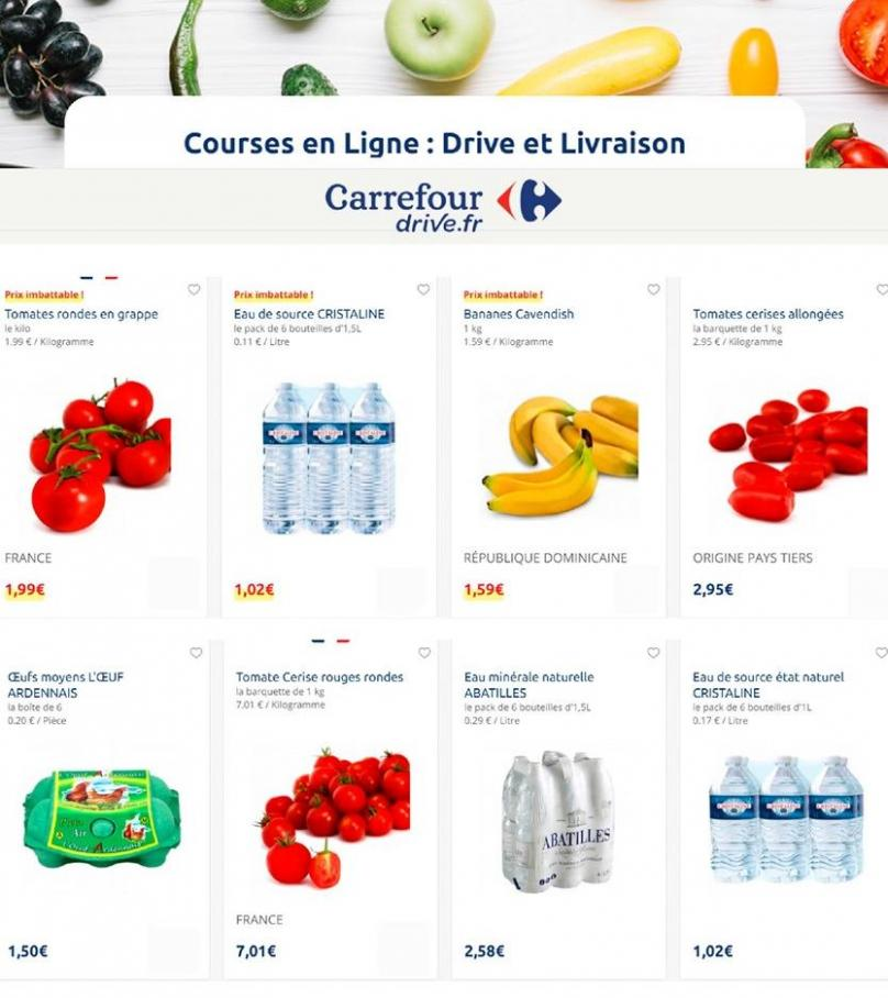 Offres Carrefour Drive . Carrefour Drive (2019-10-01-2019-10-01)