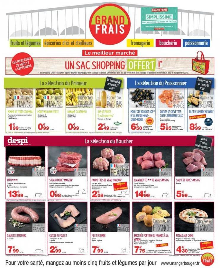 Catalogue Grand Frais . Grand Frais (2019-09-07-2019-09-07)