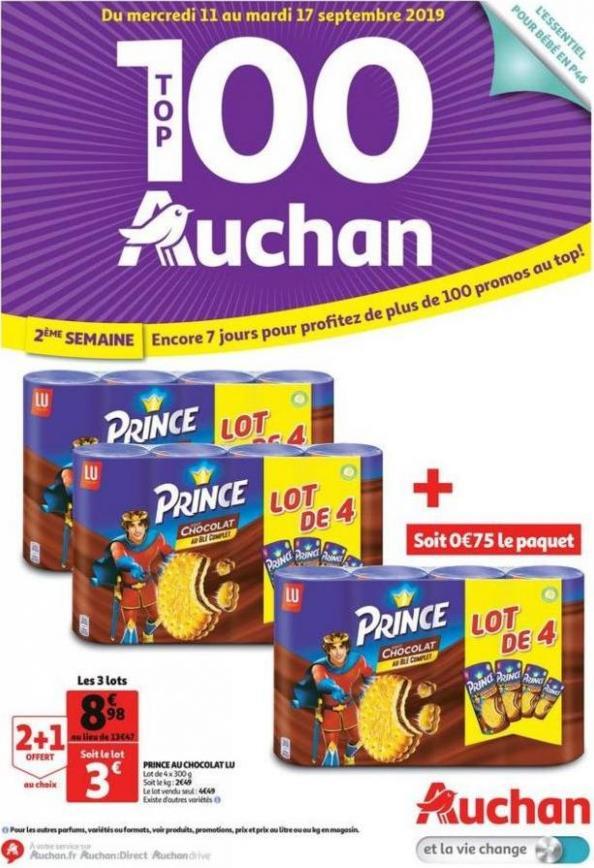 Catalogue Auchan Drive . Auchan Drive (2019-09-17-2019-09-17)