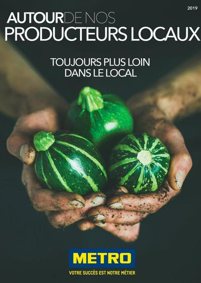 Autour de nos producteurs locaux . Metro (2019-10-31-2019-10-31)