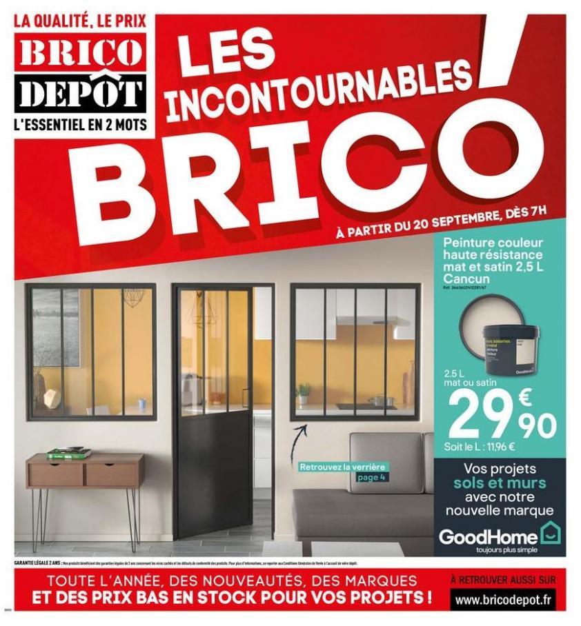 LES INCONTOURNABLES BRICO . Brico Dépôt (2019-10-03-2019-10-03)
