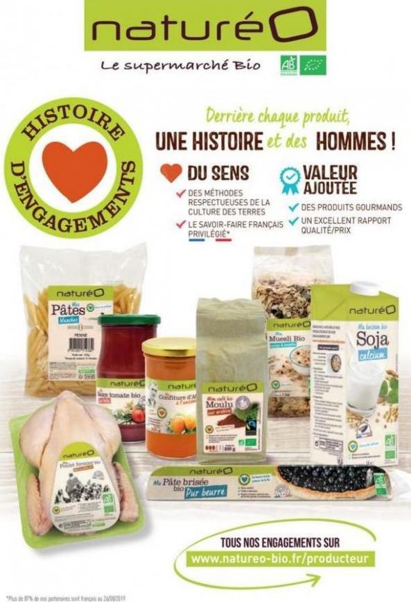 Les produits à la marque naturéO . NaturéO (2019-10-13-2019-10-13)