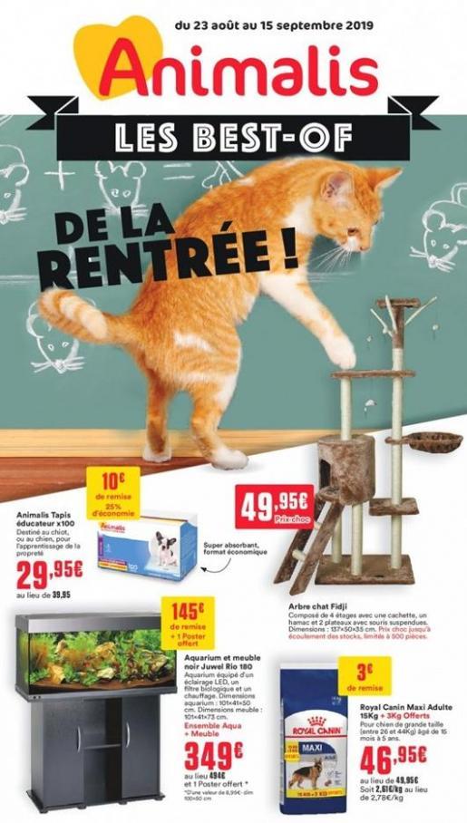 Les best of de la rentrée! . Animalis (2019-09-15-2019-09-15)