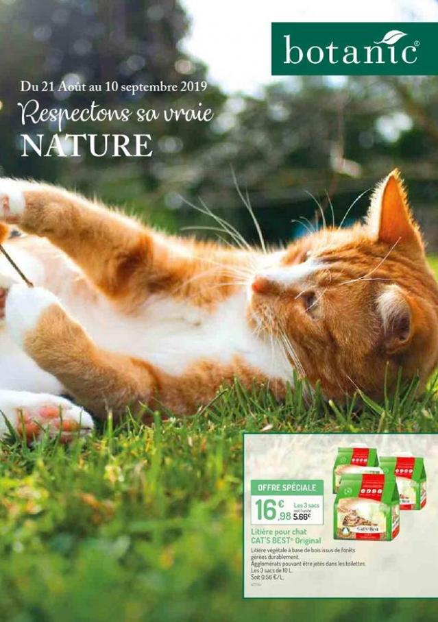 Respectons sa vraie Nature  . Botanic (2019-09-10-2019-09-10)
