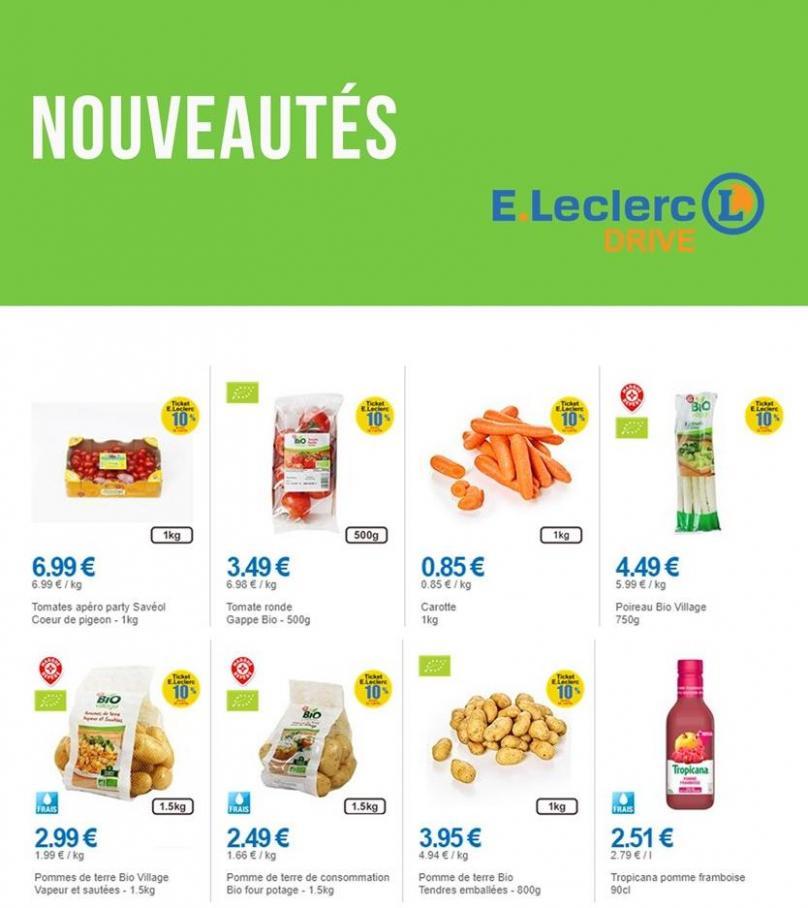 Nouveautés . E.Leclerc Drive (2019-09-05-2019-09-05)