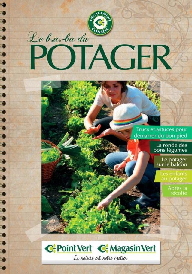 Guide le b.a.ba du potager . Point Vert (2019-12-31-2019-12-31)
