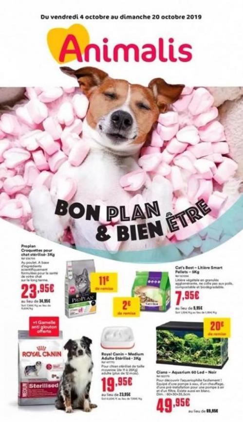 Bon plan & bien être . Animalis (2019-10-20-2019-10-20)