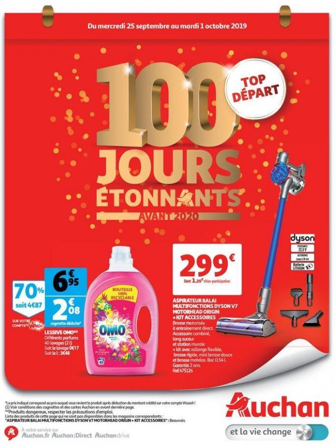 100 jours étonnants avant 2020  . Auchan Drive (2019-10-01-2019-10-01)