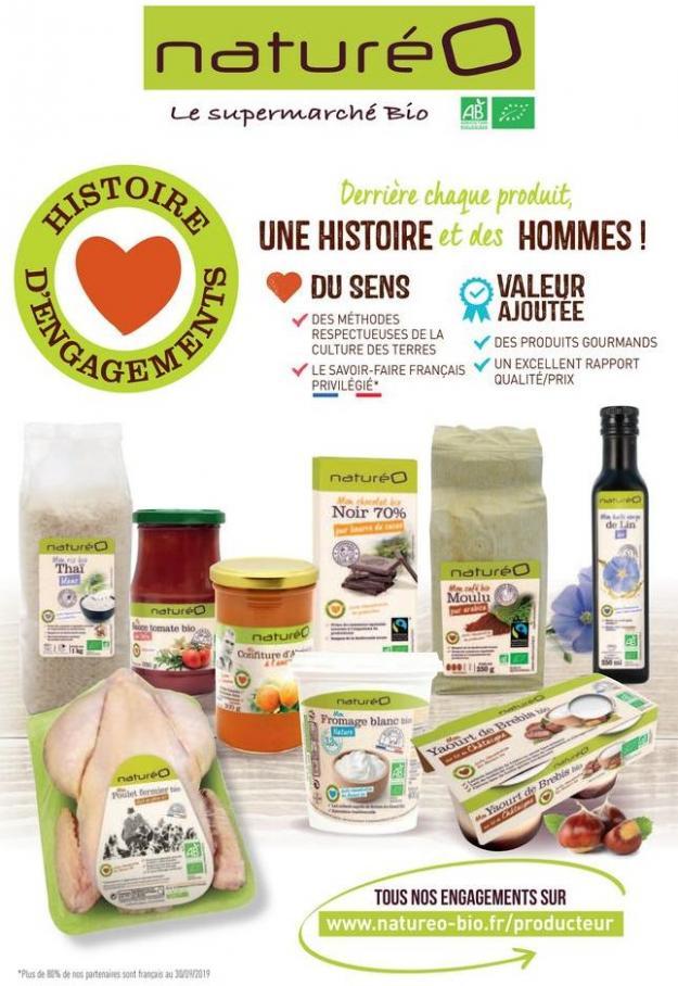Les produits à la marque naturéO . NaturéO (2019-12-15-2019-12-15)
