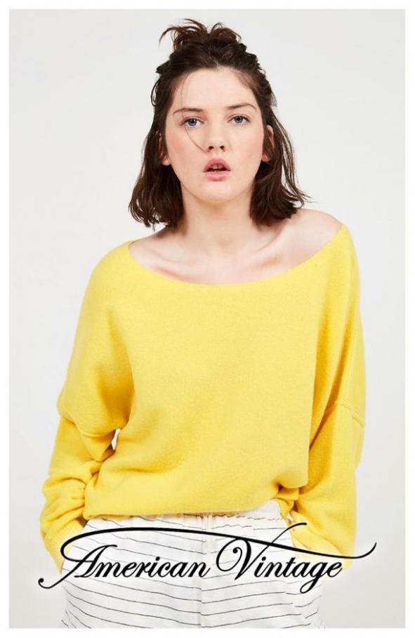 Knitwear Selection . American Vintage (2019-10-01-2019-10-01)