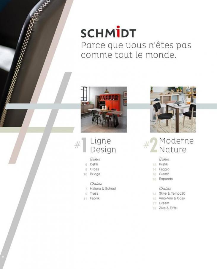 Catalogue Schmidt Tables Et Chaises 2019 Cuisines Schmidt