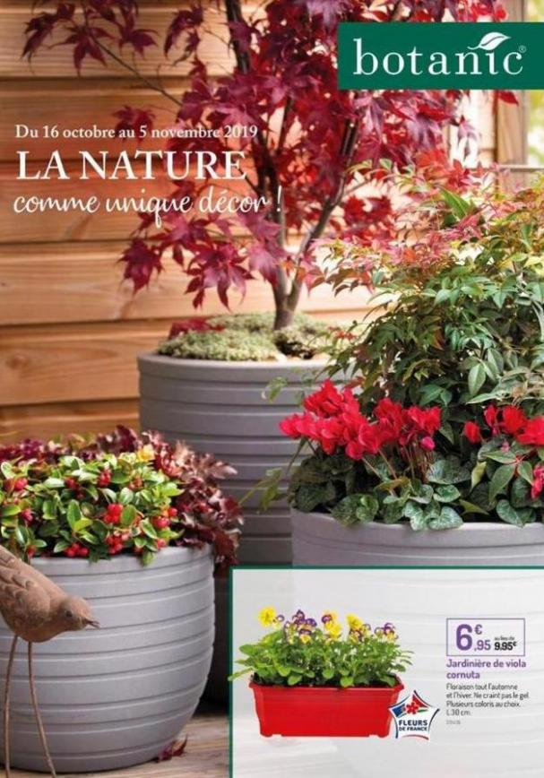 La Nature  . Botanic (2019-11-05-2019-11-05)
