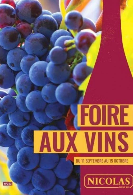 Foire aux vins  . Nicolas (2019-10-15-2019-10-15)