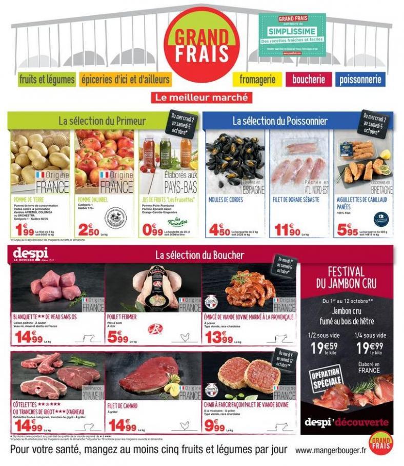 CatalogueGrandFrais . Grand Frais (2019-10-12-2019-10-12)