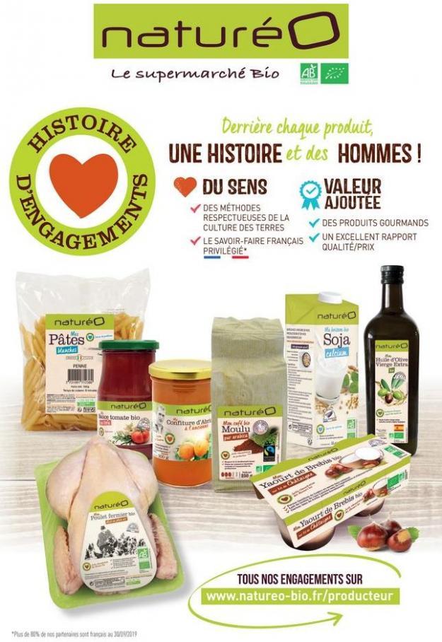 Les produits à la marque naturéO . NaturéO (2019-12-01-2019-12-01)