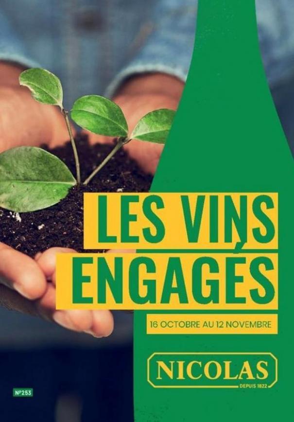 Les vins engagés  . Nicolas (2019-11-12-2019-11-12)