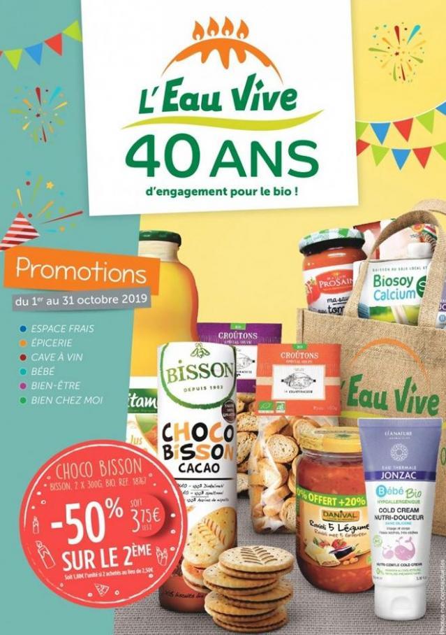 40 Ans  . L'Eau Vive (2019-10-31-2019-10-31)
