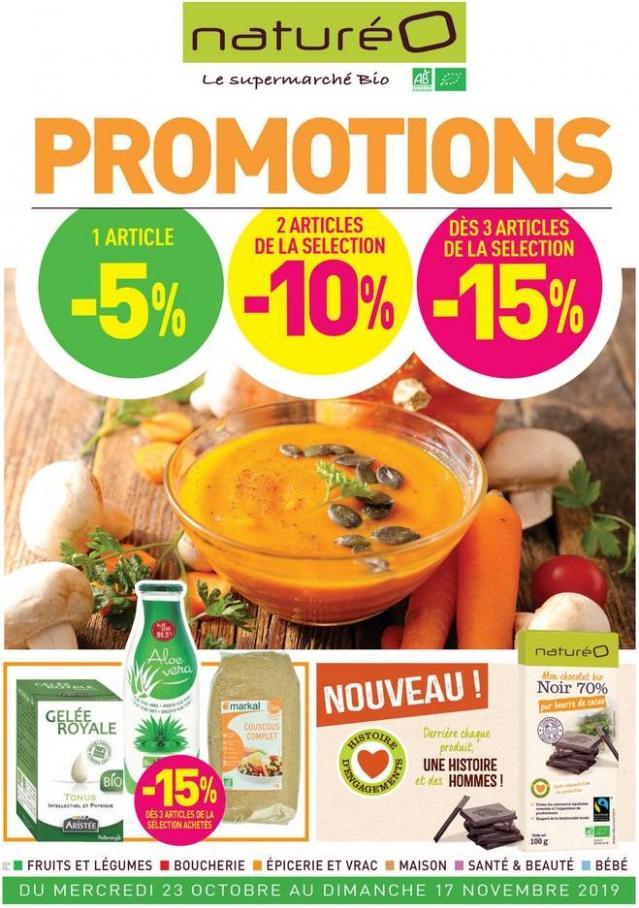 Promotions . NaturéO (2019-11-17-2019-11-17)