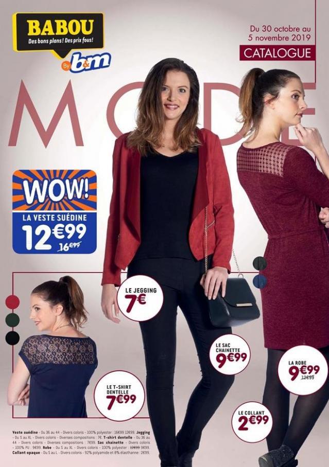 Catalogue Mode . Babou (2019-11-05-2019-11-05)