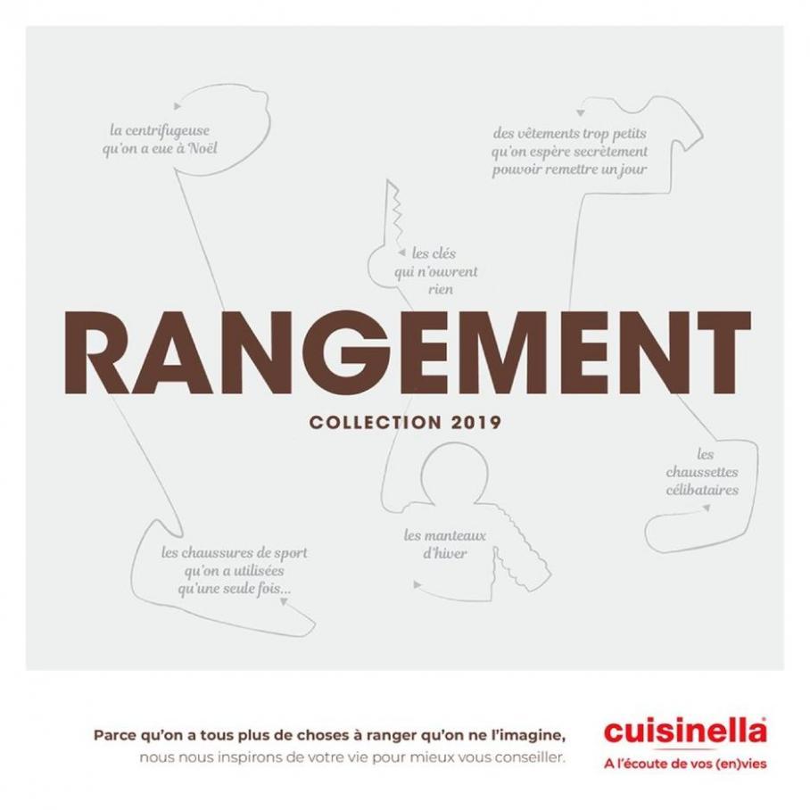 Catalogue Rangements 2019 . Cuisinella (2019-12-31-2019-12-31)