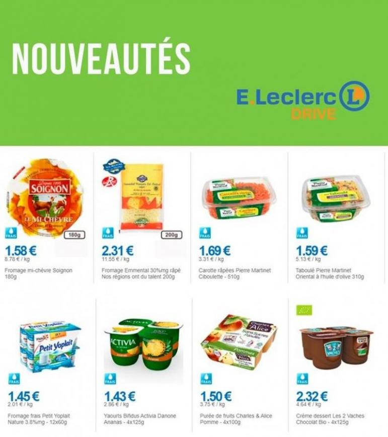 Nouveautés . E.Leclerc Drive (2019-11-11-2019-11-11)