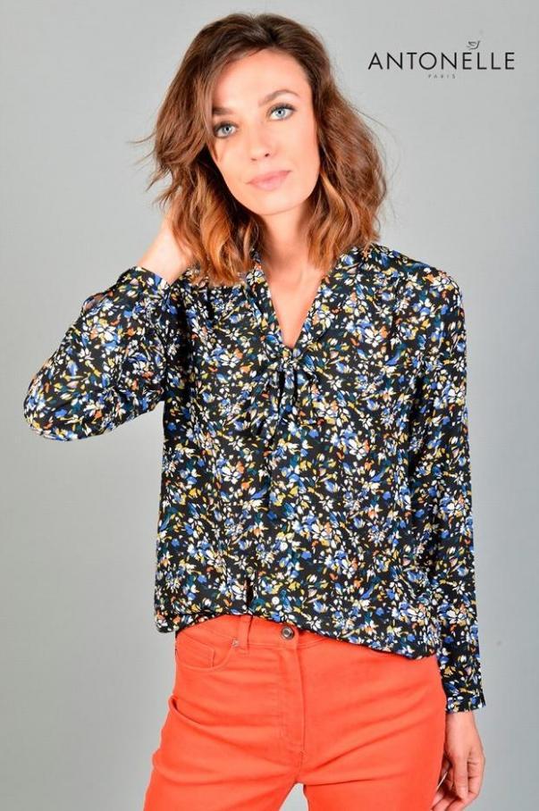 Collection Chemises & Tops . Antonelle (2019-10-24-2019-10-24)