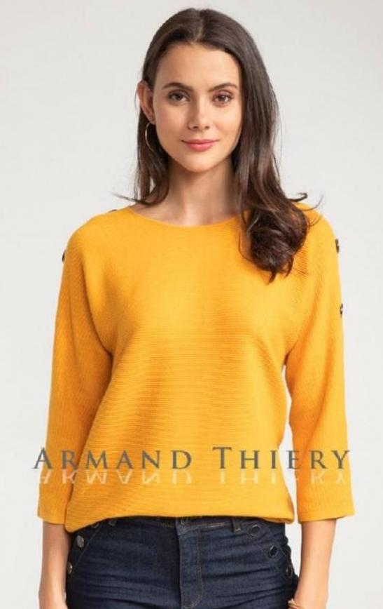 Collection Pulls Femme . Armand Thiery (2020-01-25-2020-01-25)