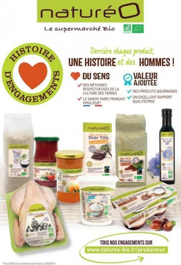 Les produits à la marque naturéO . NaturéO (2020-01-12-2020-01-12)