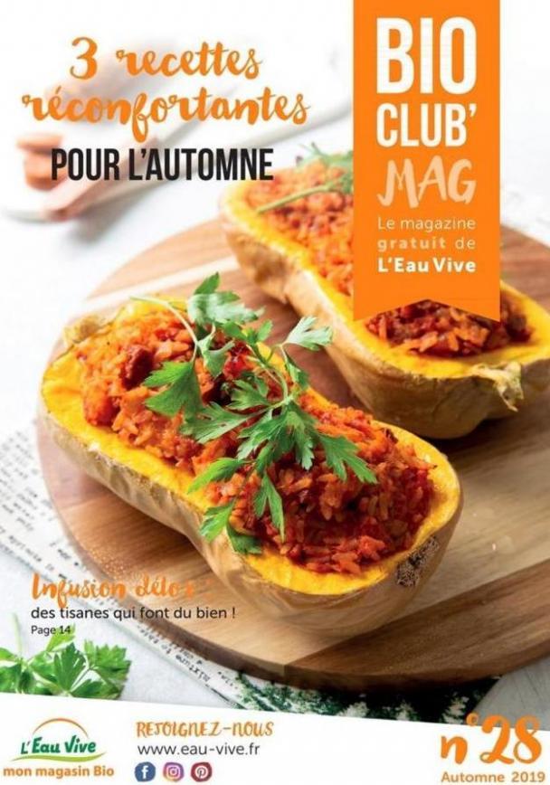 Bio Club Mag  . L'Eau Vive (2019-11-30-2019-11-30)