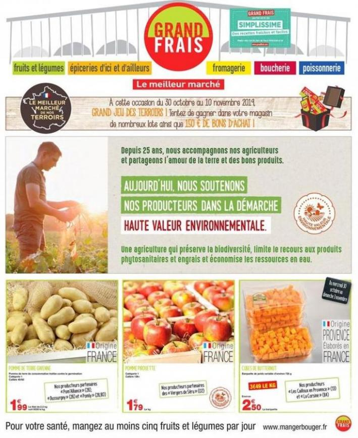 Catalogue Grand Frais . Grand Frais (2019-11-10-2019-11-10)