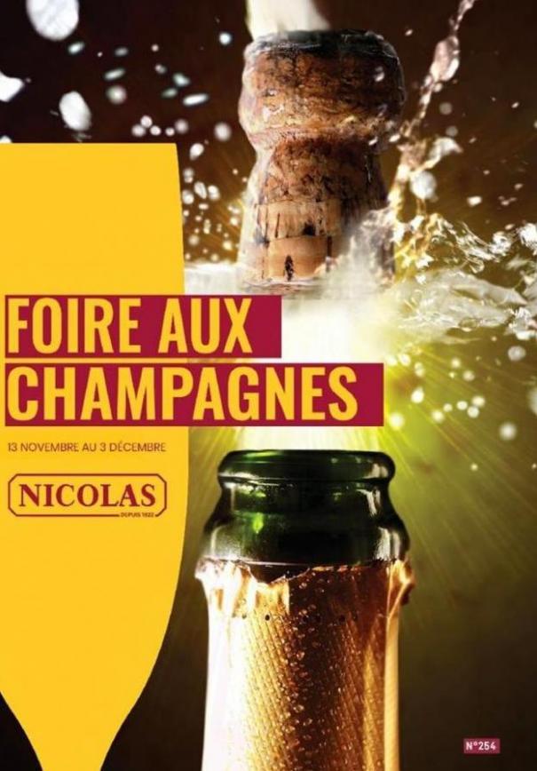 Foire aux champagnes  . Nicolas (2019-12-03-2019-12-03)