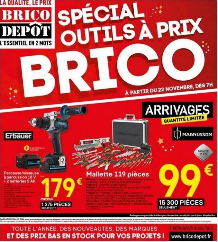 Spécial outils à prix BRICO ! . Brico Dépôt (2019-12-28-2019-12-28)