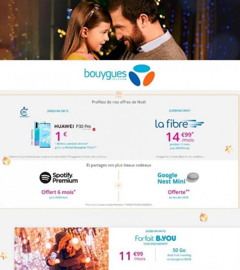 Offres Bouygues Telecom . Bouygues Telecom (2019-12-29-2019-12-29)