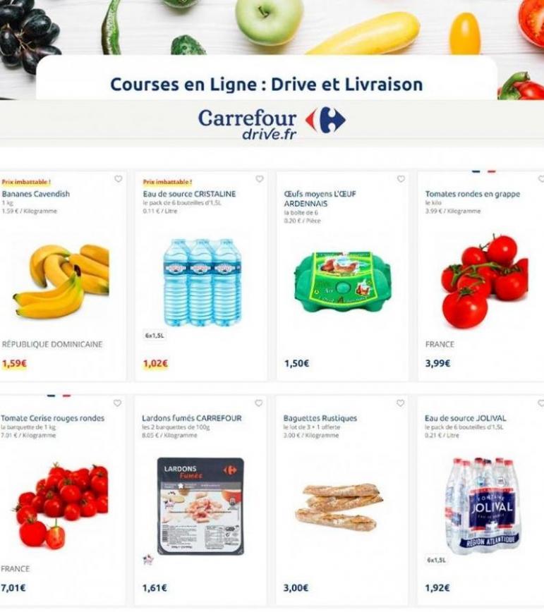Offres Carrefour Drive . Carrefour Drive (2020-01-13-2020-01-13)