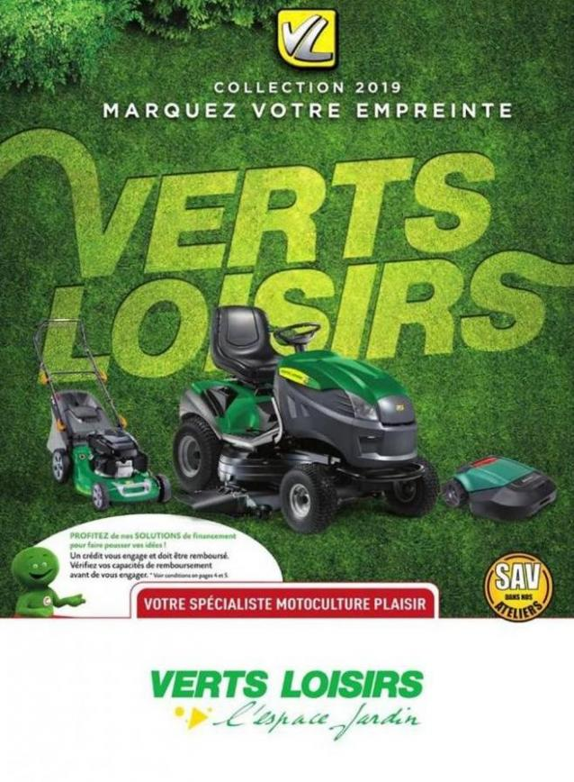 Collection 2019 . Verts Loisirs (2020-01-31-2020-01-31)