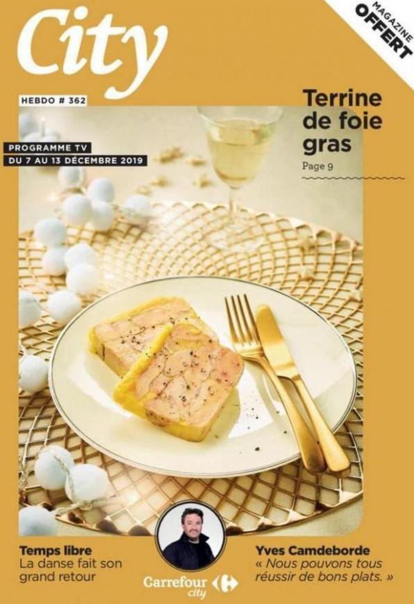 City Hebdo S49 . Carrefour City (2019-12-13-2019-12-13)