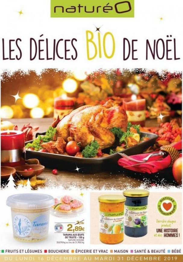Les délices BIO de Noël . NaturéO (2019-12-31-2019-12-31)