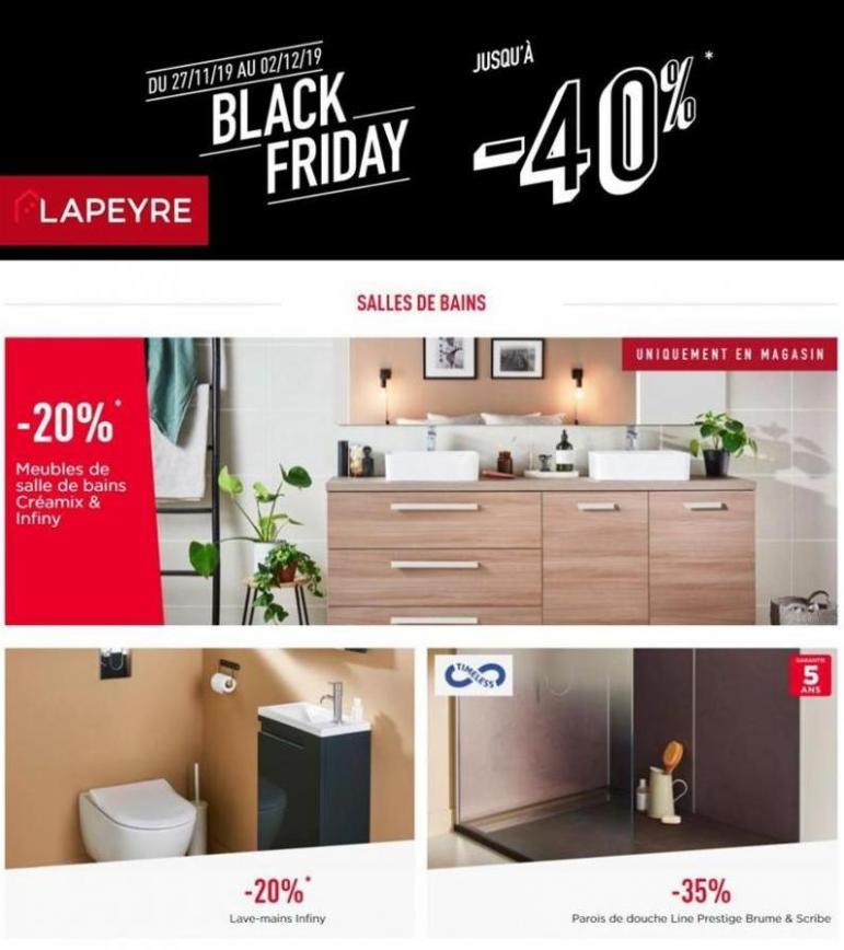 Offre Lapeyre Black Friday . Lapeyre (2019-12-02-2019-12-02)