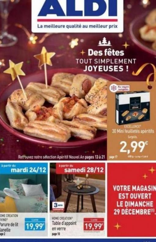Des fêtes tout simplement JOYEUSES! . Aldi (2019-12-29-2019-12-29)
