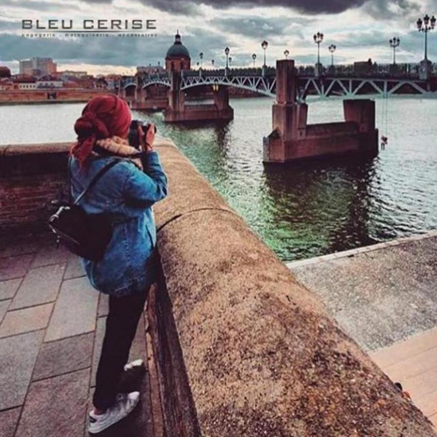 Nouvelle Collection . Bleu Cerise (2020-02-17-2020-02-17)