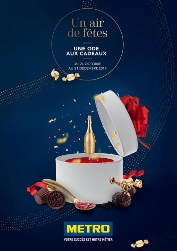 Guide Un air de fêtes, une ode aux cadeaux . Metro (2019-12-21-2019-12-21)