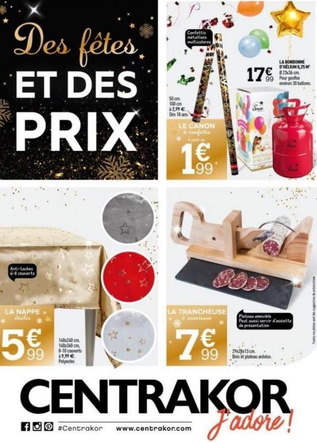 Catalogue Centrakor . Centrakor (2019-12-22-2019-12-22)
