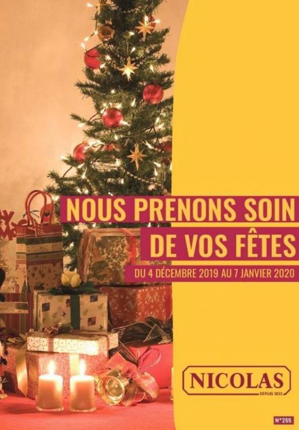 Nous prenons soin de vos fêtes  . Nicolas (2020-01-07-2020-01-07)