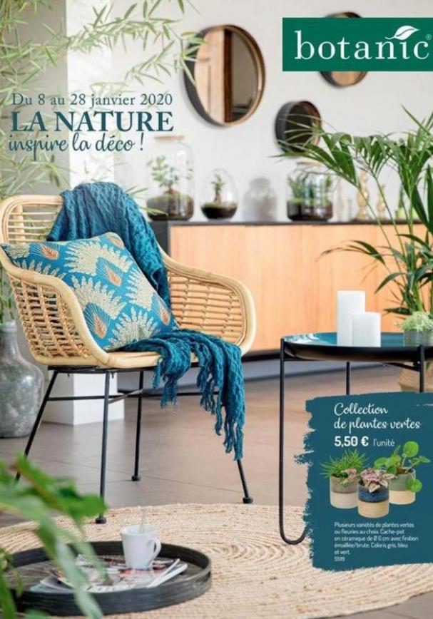 La nature inspire la déco! . Botanic (2020-01-28-2020-01-28)