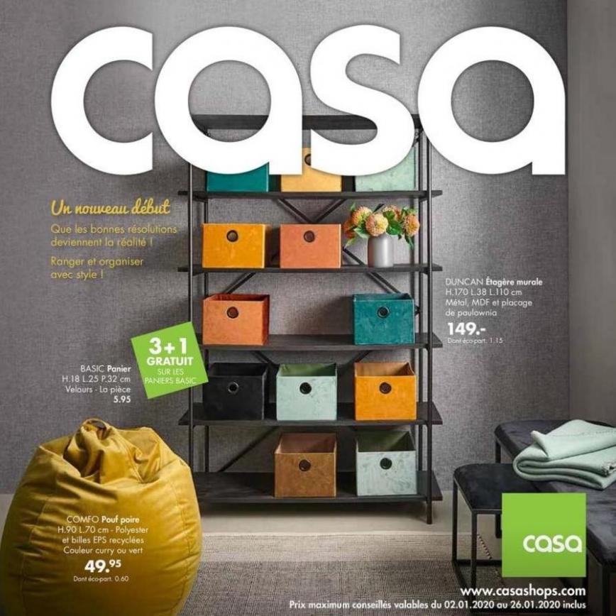 Un nouveau début LR-FR . Casa (2020-01-26-2020-01-26)