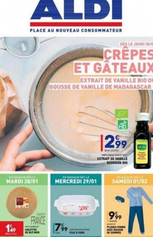 Crêpes et Gâteaux . Aldi (2020-02-03-2020-02-03)