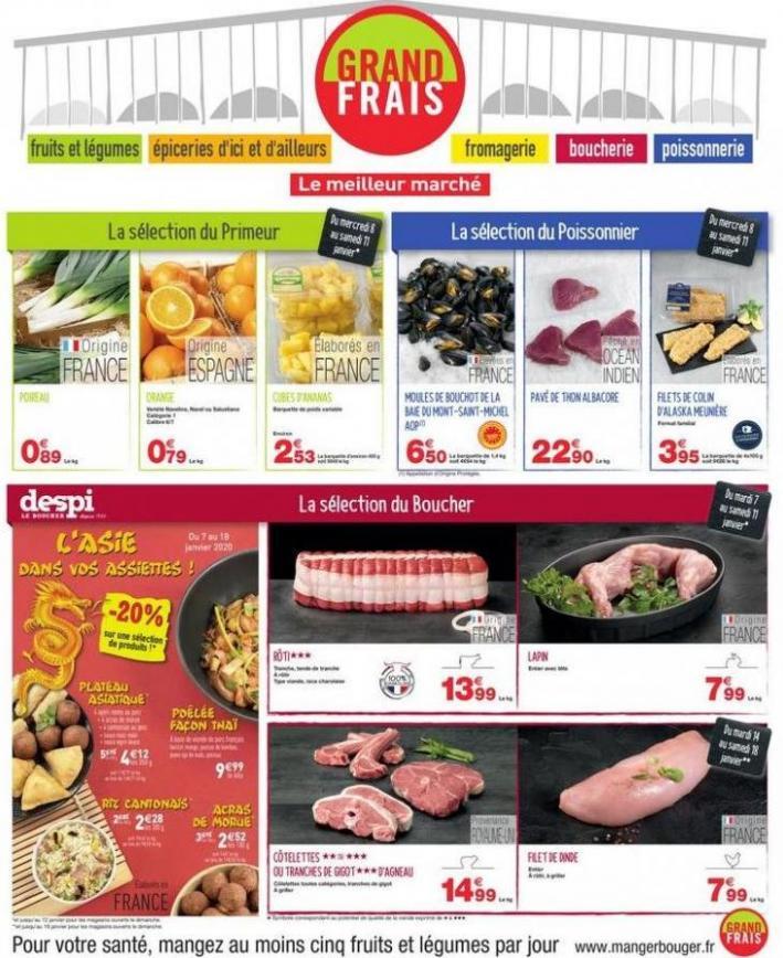 CatalogueGrandFrais . Grand Frais (2020-01-25-2020-01-25)