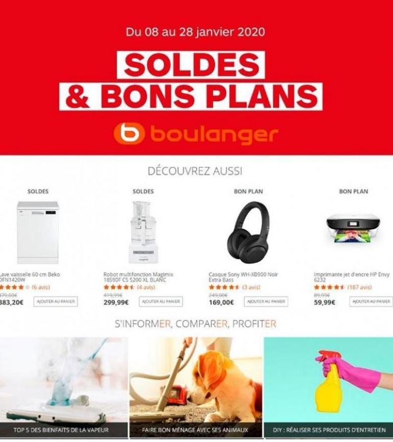 Soldes & Bons Plans . Boulanger (2020-01-28-2020-01-28)